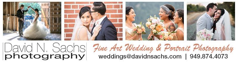 David N. Sachs Photography Logo Fine Art & Wedding Photography weddings@davidnsachs.com 949.874.4073