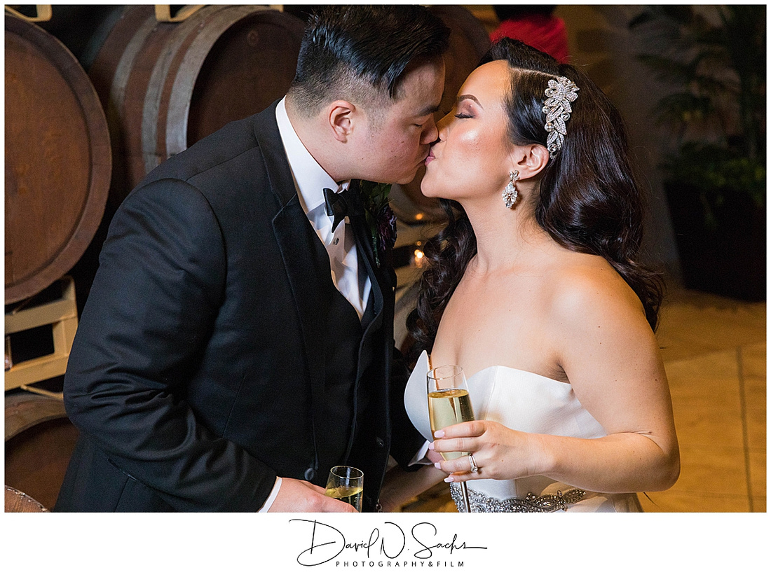 Photos show a couple on their wedding dat in Livermore California