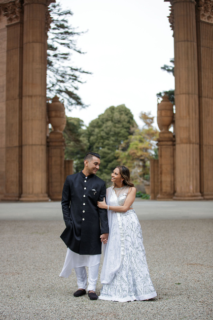San Francisco Palace of Fine Arts Engagement session by David N Sachs Photography