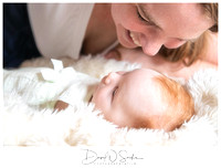 3 Month Old Milestone Session