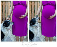 San Jose Backyard Maternity Session