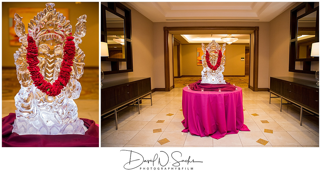 Indian wedding photos from the Sangeet and Mehndi