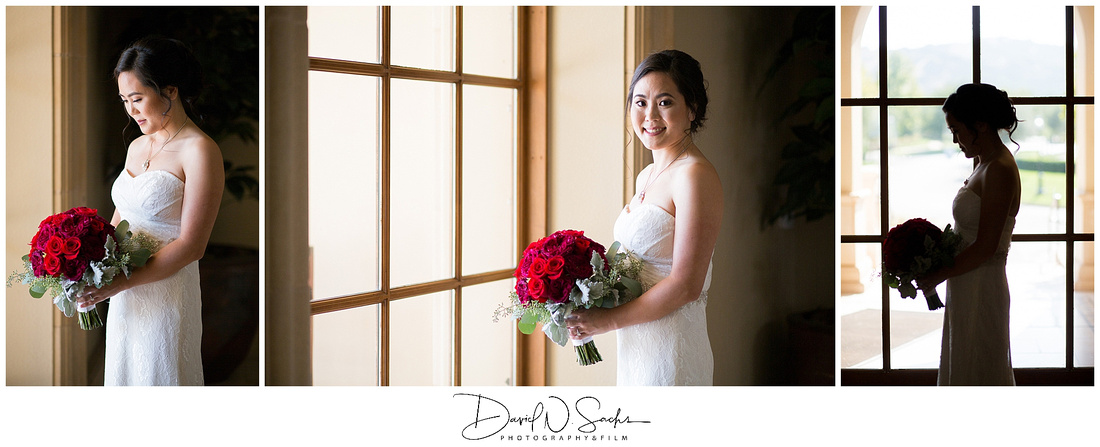 A collection of wedding photos of a black tie classic elegant wedding at The Club at Ruby Hill in Livermore California.