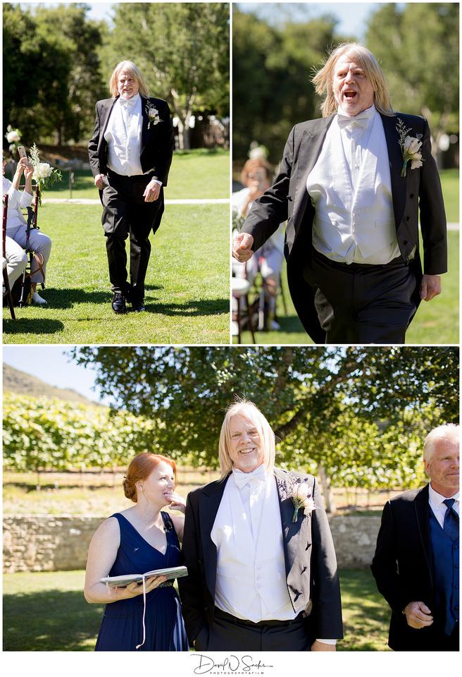 Formal Carmel Valley Ranch Wedding Photos