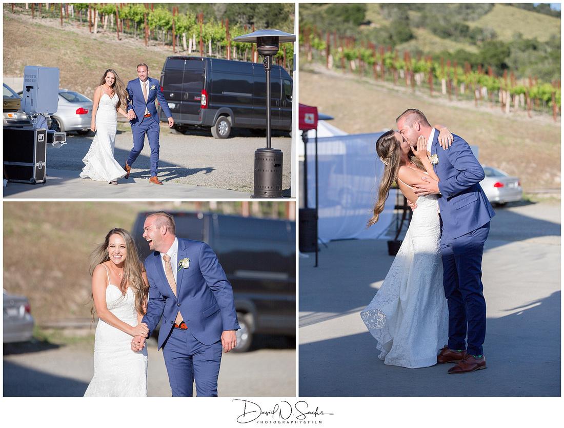 Carmel Valley Summer Wedding Photo
