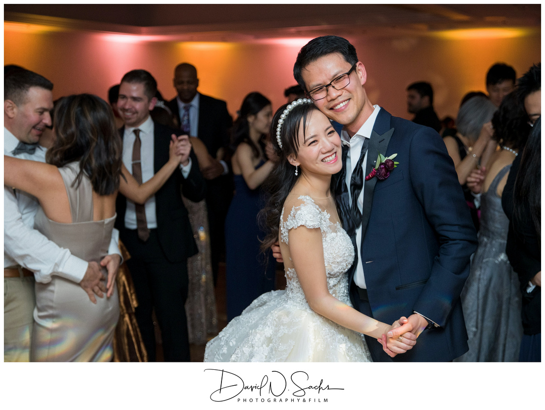 New Years Eve Wedding at The Claremont in Berkeley California