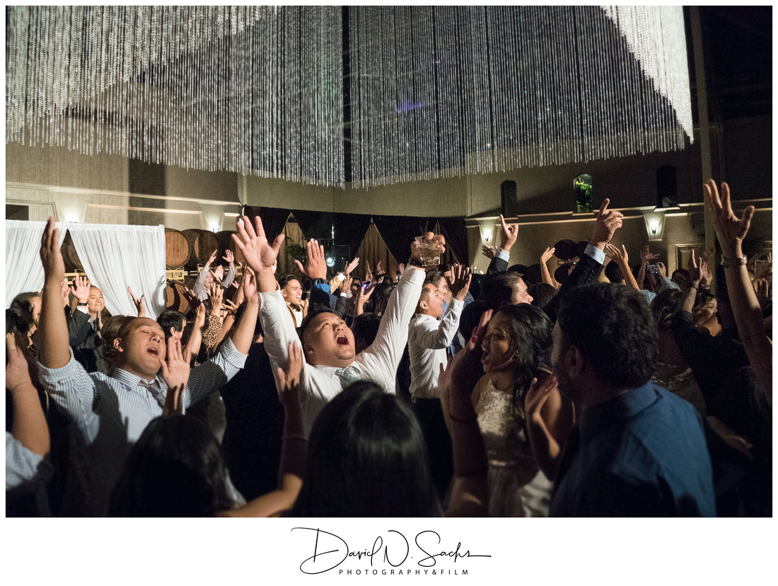 Palm Event Center Black Tie Wedding Photos