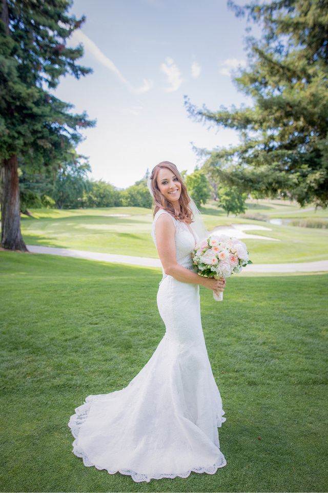 Summer Wedding at Crow Canyon Country Club Wedding