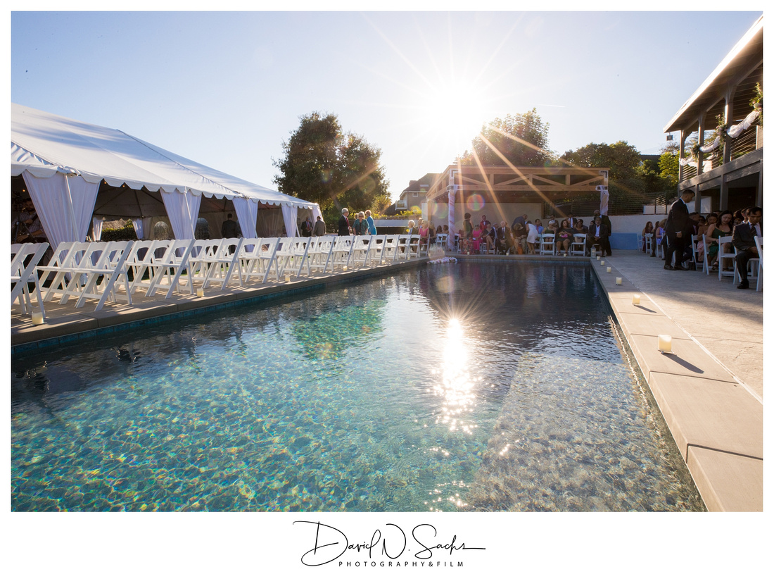 Orange County Backyard Wedding