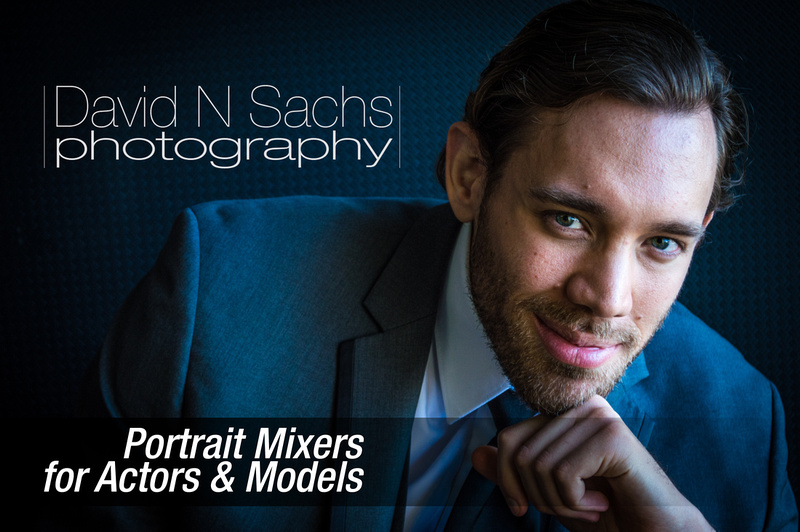 Text and Image Graphic: Portrait Mixers for Actors and Models
