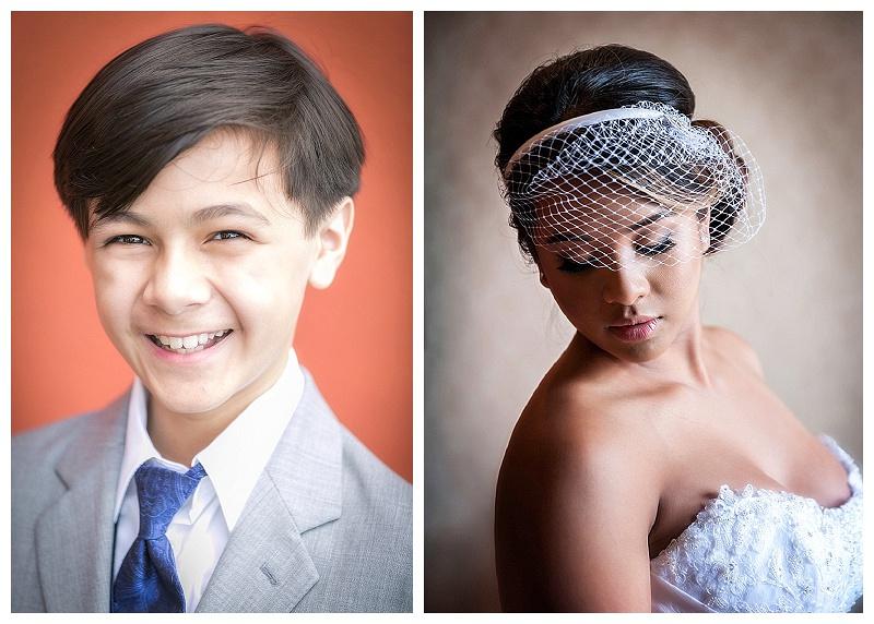 Sample portraits: Portrait Mixers for Actors and Models