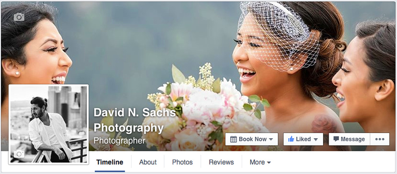 David N. Sachs Photography Facebook Page Screenshot