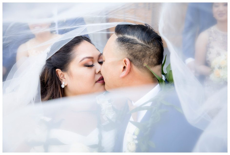San Francisco Wedding St. Dominic's Catholic Church Beautiful wedding photo